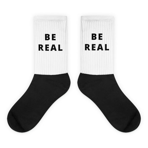 BE REAL Socks