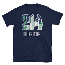 Unisex 214 mavs theme Cotton T-Shirt