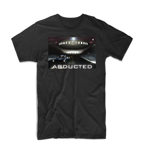 """Abducted"" T Shirt (Black/Grey/Blue)"