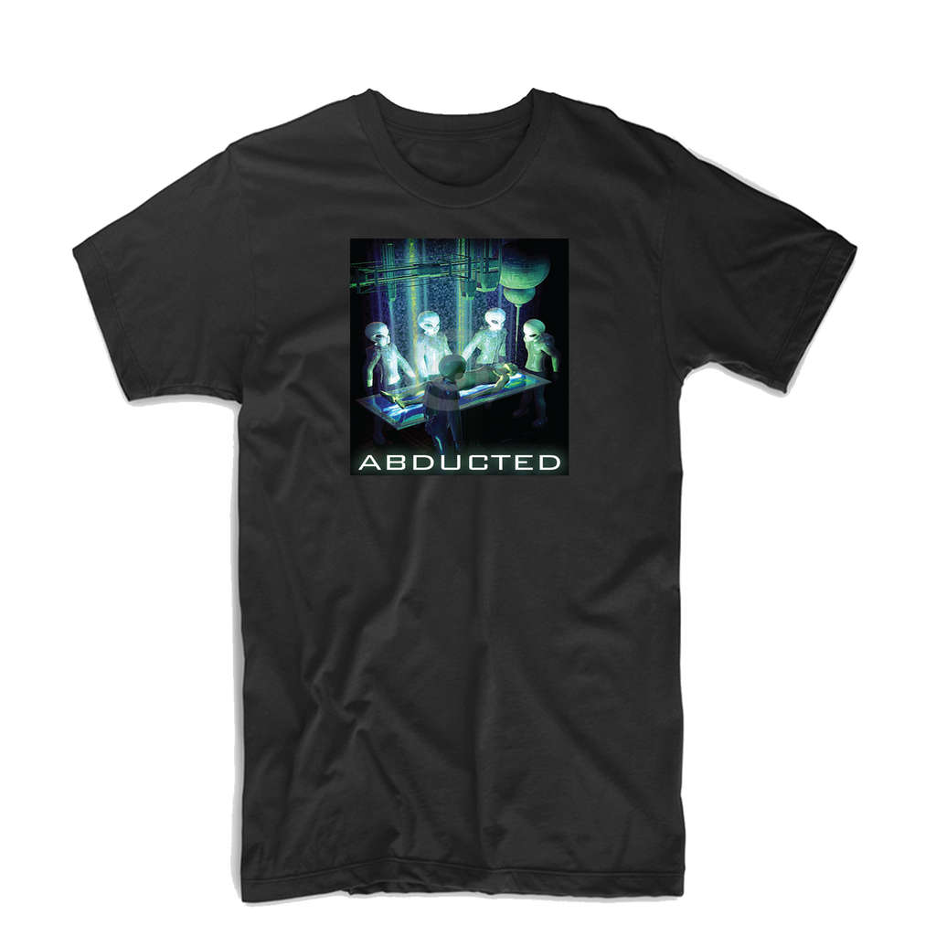 """Abducted"" T Shirt (Black/Blue/Dark Green)"