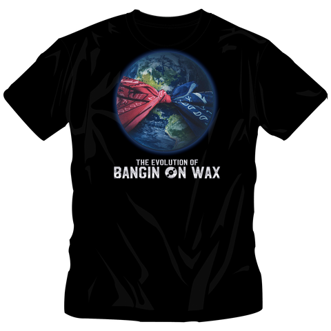 "*Limited Edition ""Evolution of Bangin On Wax"" Bandana Edition - Tee"