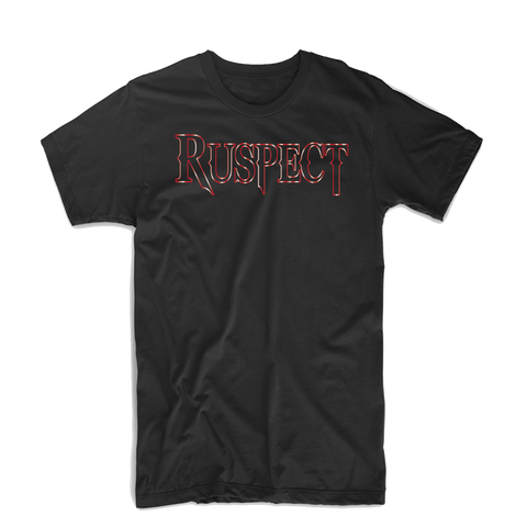 "Ruspect ""Original"" T Shirt (Black/Burgundy)"