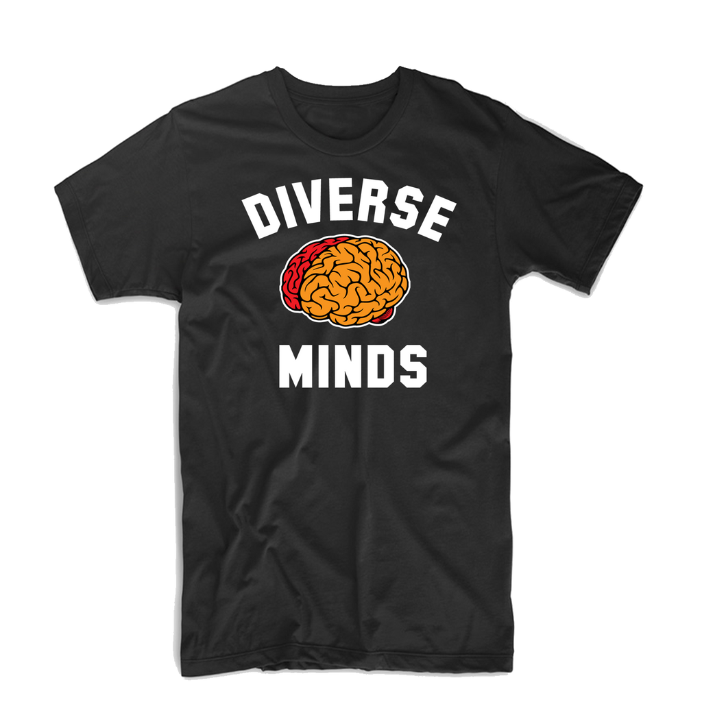 Diverse Minds Team T Shirt (Red/Orange)