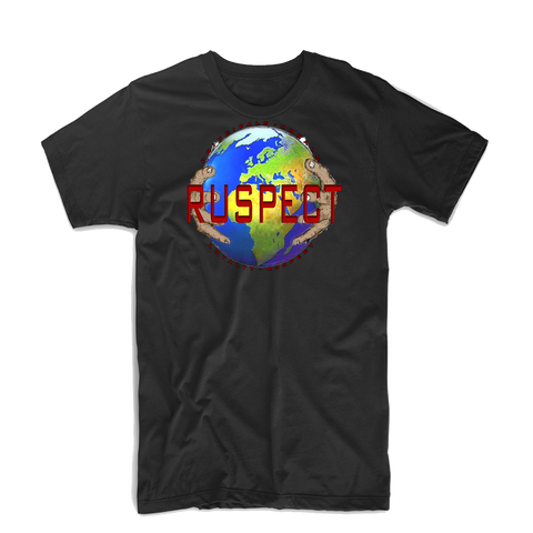"Ruspect ""World"" T Shirt (White/Black/Red/Blue/Green)"