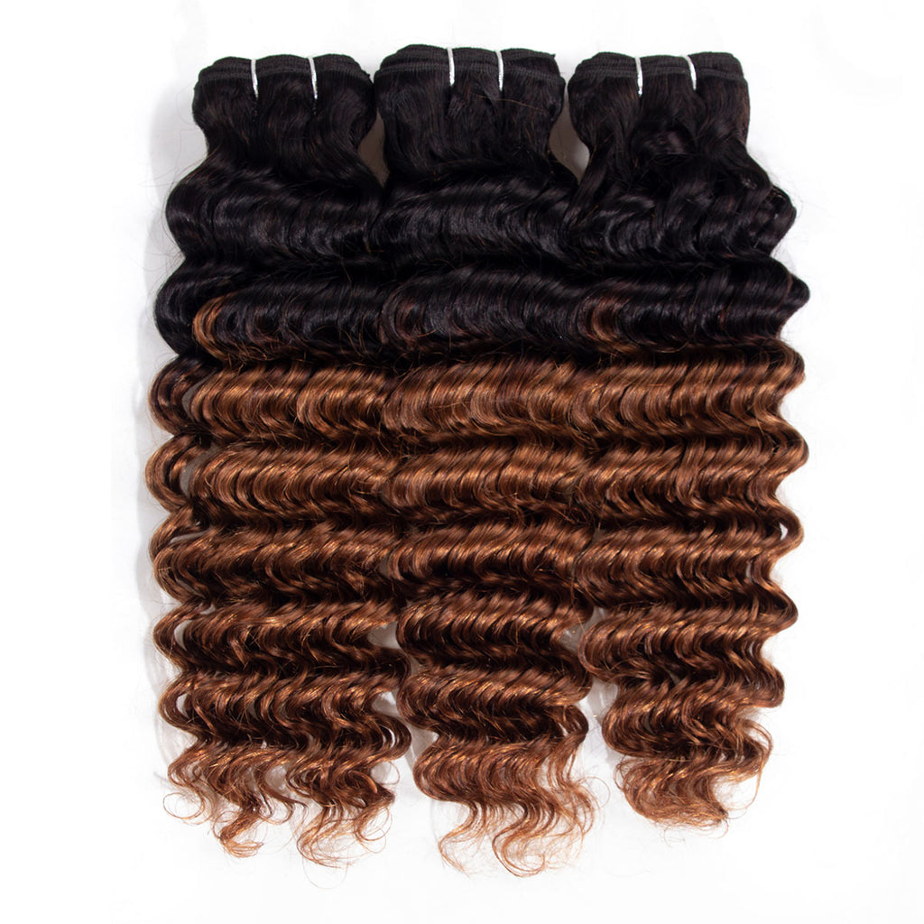 3 Bundles Color 1B/33 Ombre (Any Texture)