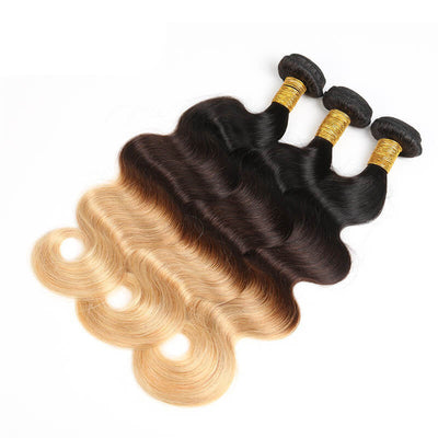 3 Bundles Color 1B/4/27 Ombre (Any Texture)