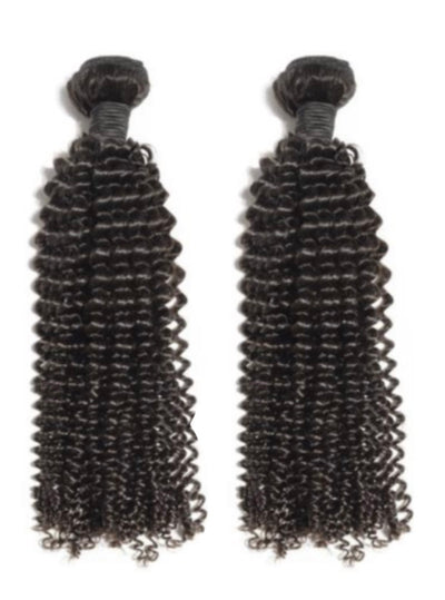 2 Kinky Curly Bundles( Industry Standard Collection)