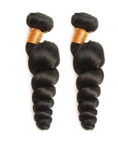 2 Loosewave Hair Bundles ( I Am A Queen Collection)