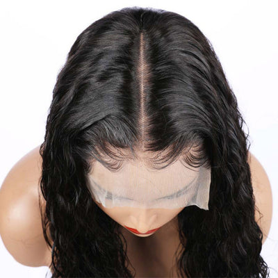 Natural Wave Front Lace Wig Unit