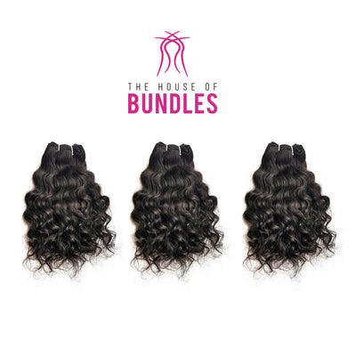 3 Raw Curly Bundles