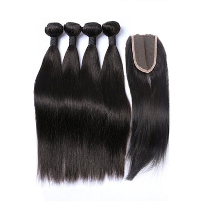 4 Bundle Deal with Free Closure ( Any Texture )
