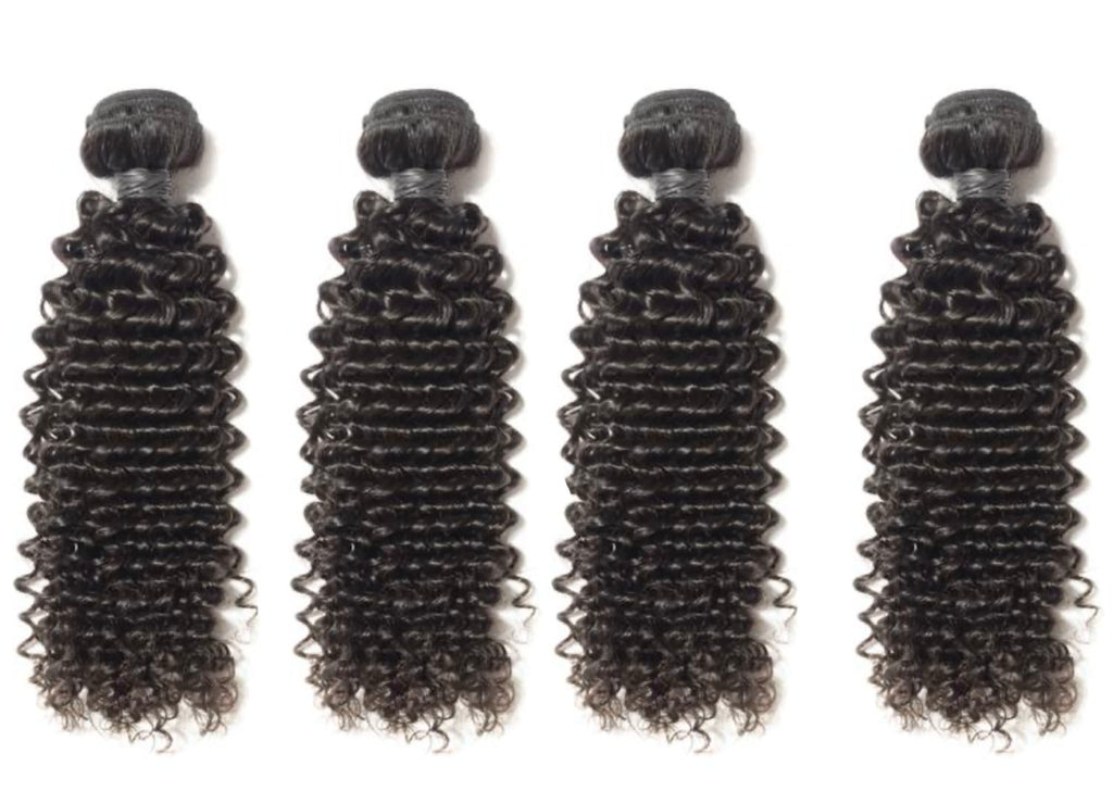 4 Curly Bundles( Industry Standard Collection)