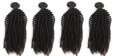 4 Kinky Curly Bundles( Industry Standard Collection)