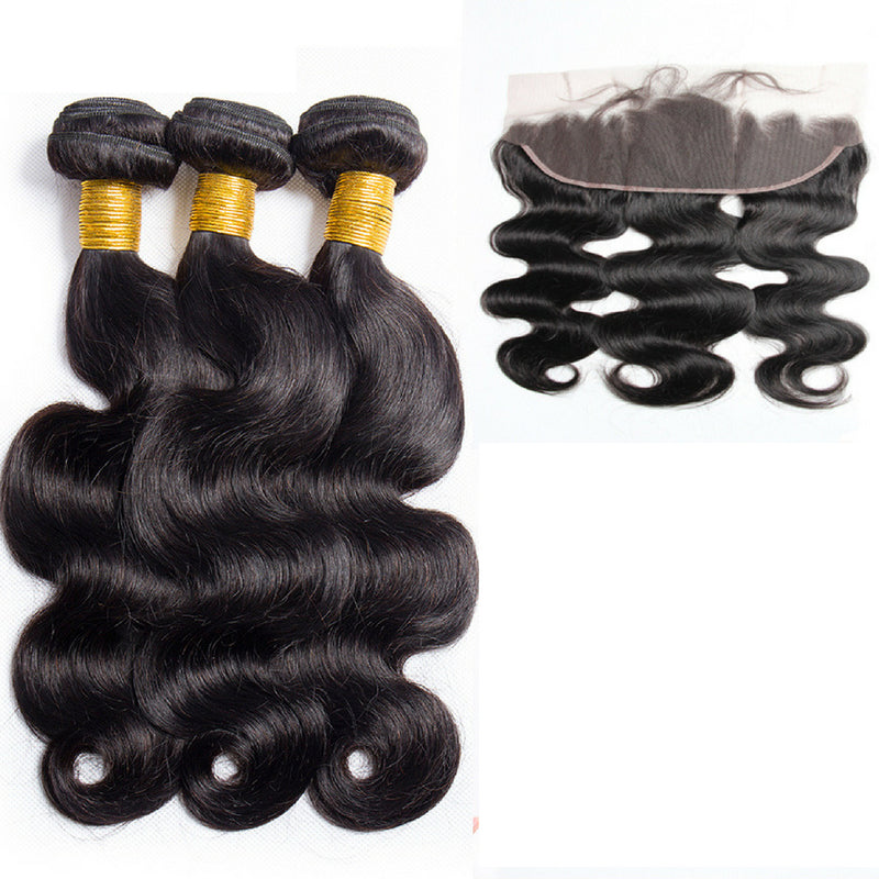 Bodywave Hair 3 Bundles & Frontal ( I Am A Queen Collection )