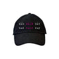 Black Bad Hair Day Dad Hat