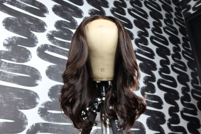 Bodywave  Closure Wig Unit