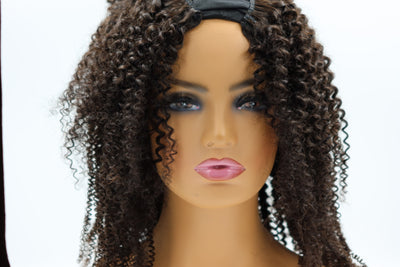 U-Part Kinky Curly Unit
