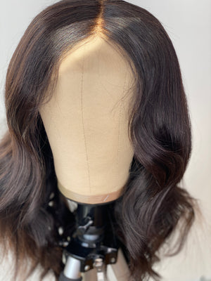 3 Bundles & Closure Custom Wig Unit