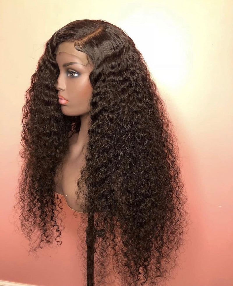 3 Bundles Of Curly Hair & Matching Closure Custom Unit