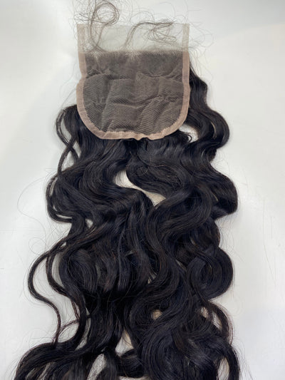 4x4 Natural Wave 18 inch Closure