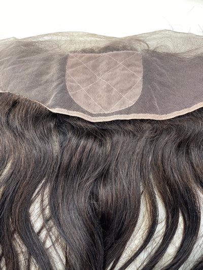 13x4 Straight Hair 26 inch Frontal Silk Based