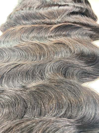 Bodywave  13x4 Transparent Lace Frontal 22 inch Unit 180 Density