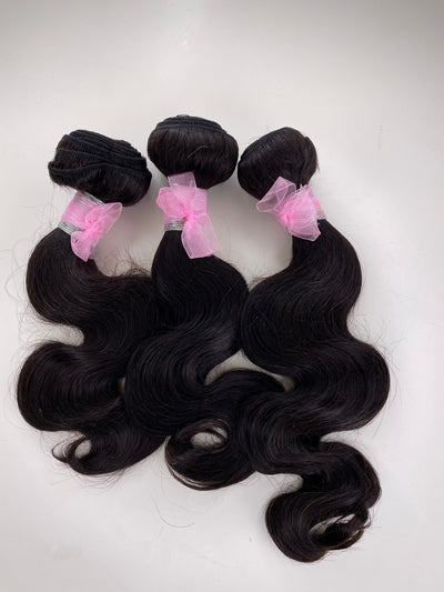 3 Bodywave Bundles 12-14-16 Inches