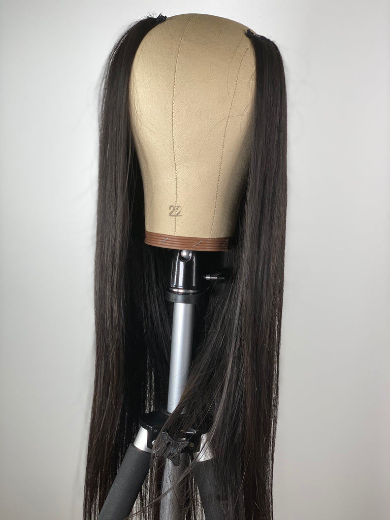 Straight Hair U-Part Unit  26 Inches