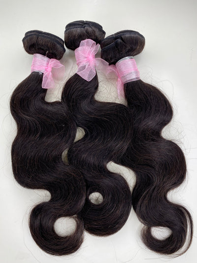 3 Bodywave Bundles 14-14-14 Inches