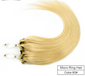Ash Blonde Color #60 Micro-Links