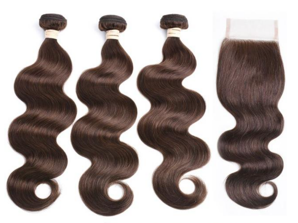 3 Bundles & Closure Color #2