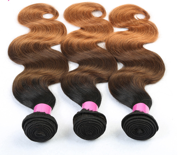 3 Bundles Colored 1B/4/30 (Any Texture)