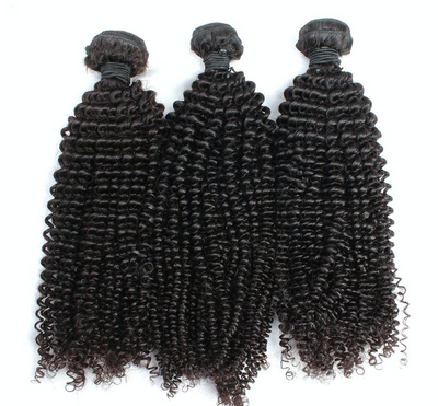 3 Kinky Curly  Bundles( Industry Standard Collection)