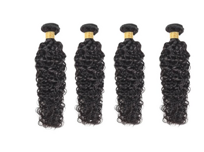 4 Natural Wave Bundles( I Am A Queen Collection)