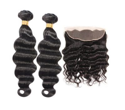 2 Loose Deepwave Bundles & Frontal ( I Am A Queen)