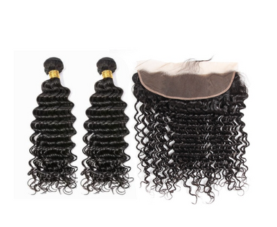 2 Deepwave Bundles & Frontal ( I Am A Queen)