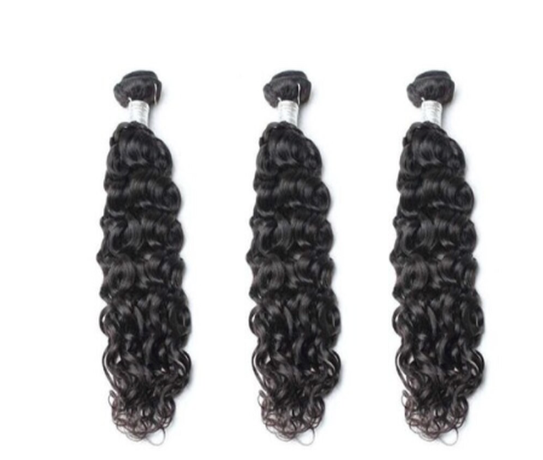 3 Natural Wave Bundles ( Goddess Collection)
