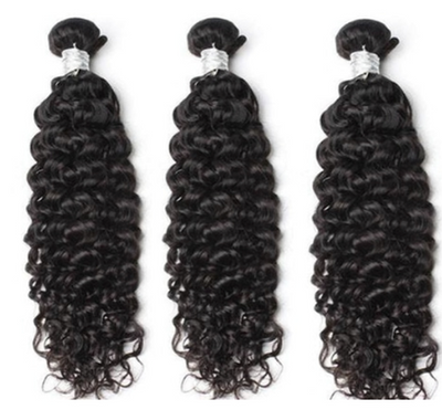 3 Curly Bundles ( Goddess Collection)