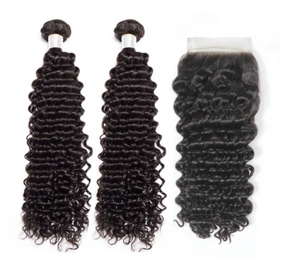 2 Deepwave Bundles & Closure ( Goddess Collection)