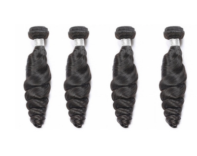 4 Loose Wave Bundles( Goddess Collection)