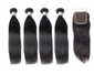 4 Straight Bundles & Closure ( Goddess Collection)