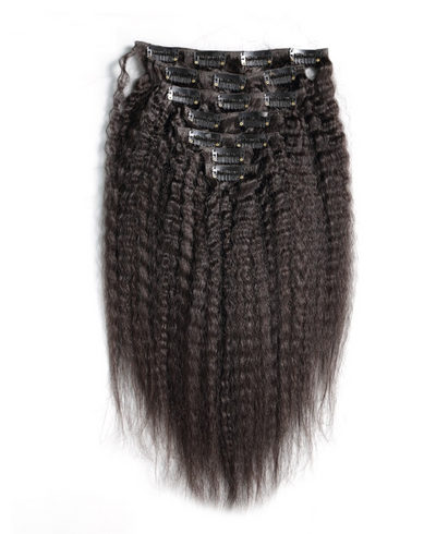 Kinky Straight Clip-In Extensions 5-7 Business Days