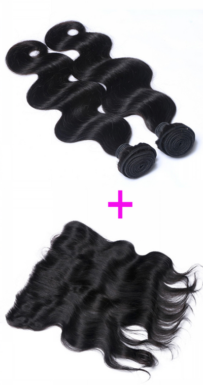 2 Bundles & Frontal  (Any Texture)