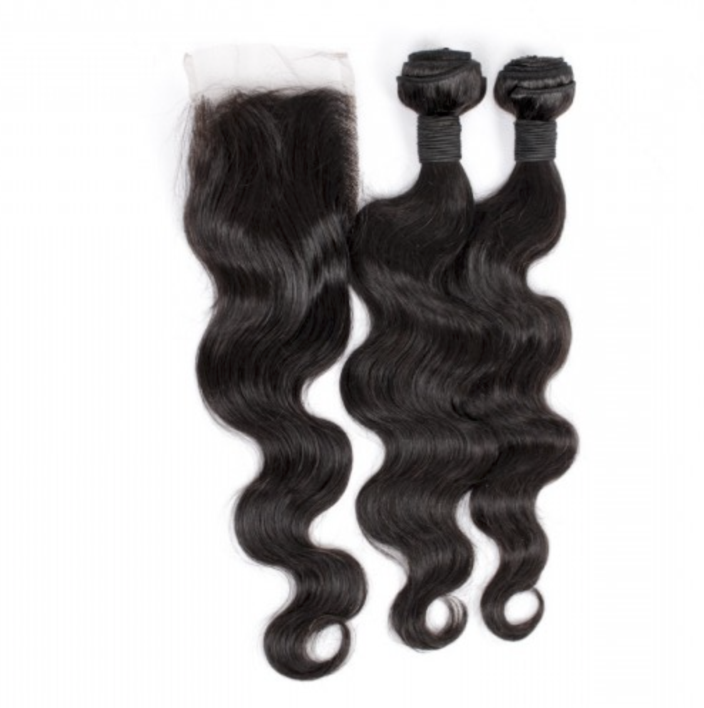 2 Bundles+ Closure (Any Texture)