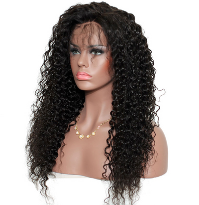 Curly Front Lace Wig Unit