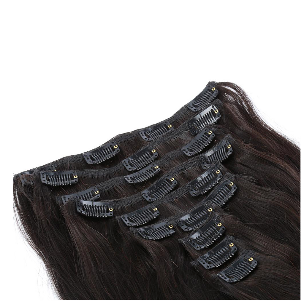 Straight Hair Clip In Extenstions