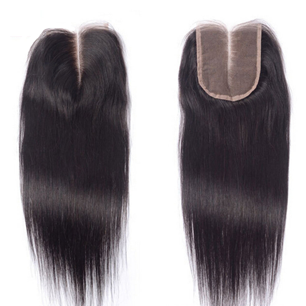 ST 4x4 Middle Part 10 Inch Closure