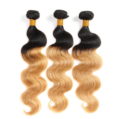 3 Bundles Color 1B/27 Ombre (Any Texture)