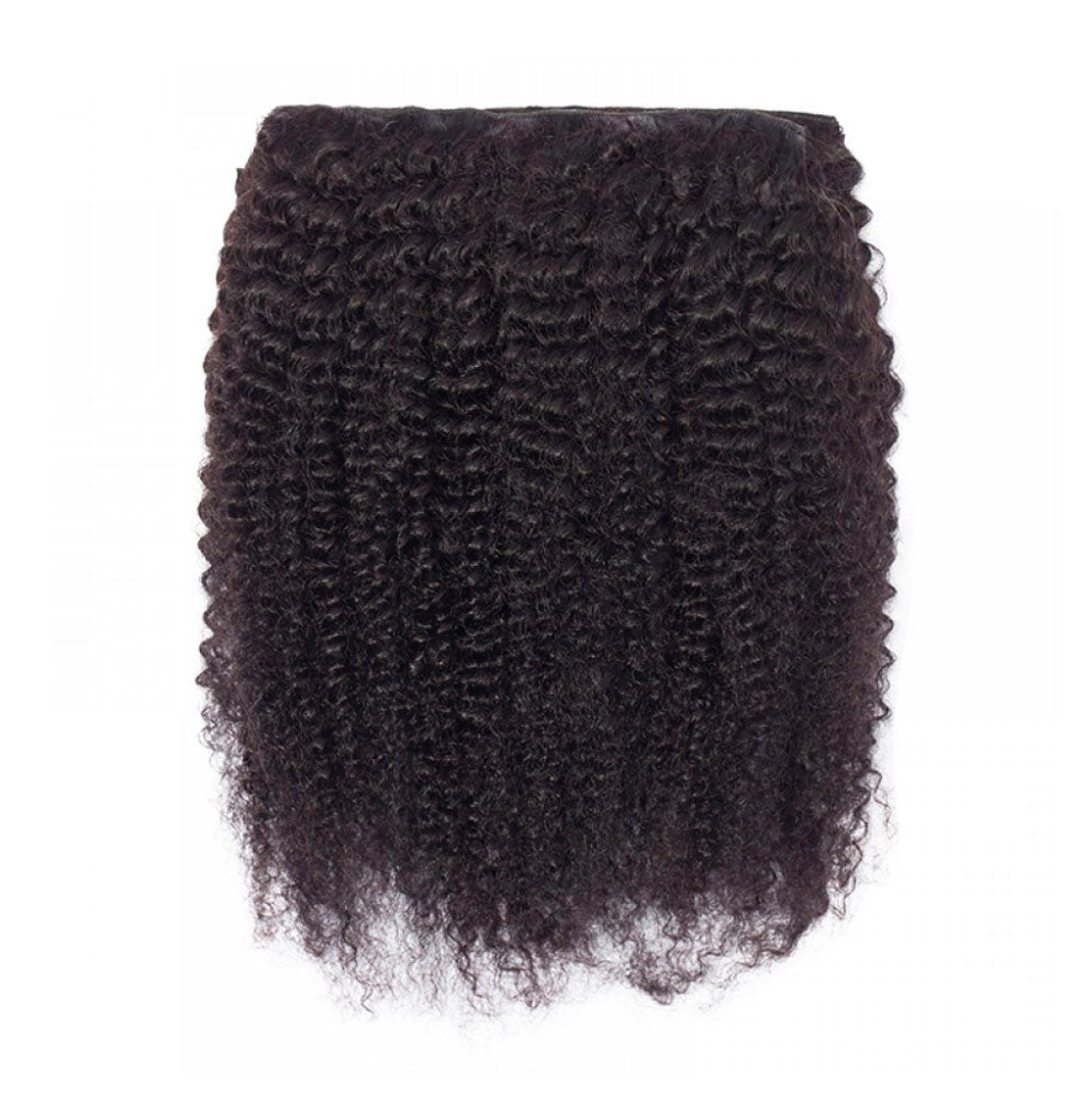 Kinky Curly Clip-In Extensions 5-7 Business Days
