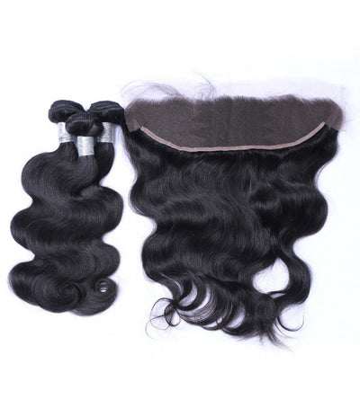 Bodywave Hair 3 Bundles & Frontal  ( Goddess Collection )